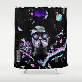 Marla Singer Slide Shower Curtain