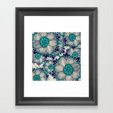 Flower hope Framed Art Print