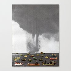 Theres a Storm Coming Canvas Print