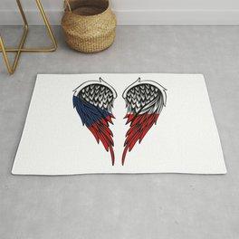 Czech wings art Rug