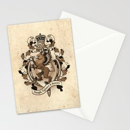 Gryphon Coat Of Arms Heraldry Stationery Cards