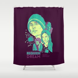 Requiem For A Dream Shower Curtain