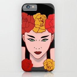 Asian Beauty iPhone Case
