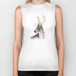 Deer - Fallow Deer Biker Tank