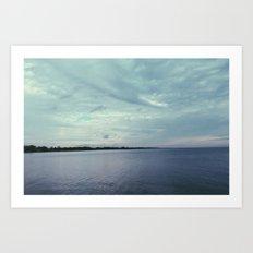 beach tones. Art Print