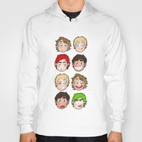 talking heads Hoodies featuring Heads by gabitozati