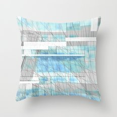 Sky Scraped Throw Pillow