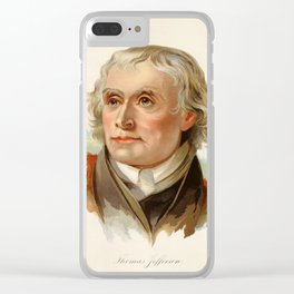 Our Country 1891 - Thomas Jefferson Clear iPhone Case