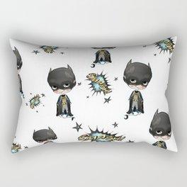 Super-cute-super-heroes bat-man Rectangular Pillow
