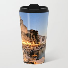 Ciutadella Harbor Travel Mug