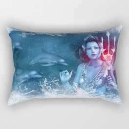 Queen of the Sea Rectangular Pillow