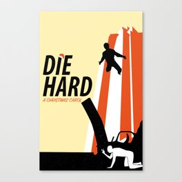 Die Hard - A Christmas Carol Canvas Print
