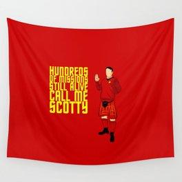 Kilted Scotty Still Lives Wall Tapestry