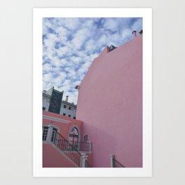 Pink Alto Cumulus Art Print