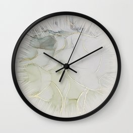 Scratch the Surface Wall Clock
