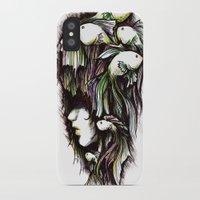 life aquatic iPhone & iPod Cases featuring Aquatic by Emma Lettera