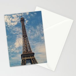 Eiffel Tower, Paris (Portrait) Stationery Cards