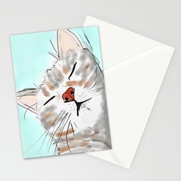 Sweet Dreams Kitty Stationery Cards