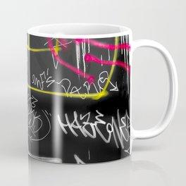 New York Traces - Urban Graffiti Coffee Mug