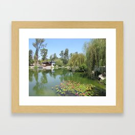 CHINESE GARDEN at The Huntington Framed Art Print