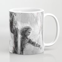 thor Mugs featuring Thor by Wisesnail