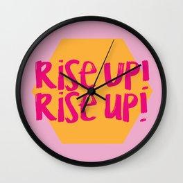 Rise Up (Hamilton Series) Wall Clock