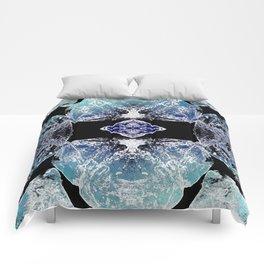 Turquoise Mandala-Throat Chakra Comforters