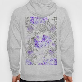 ORCHIDS PURPLE VINES AND CHERRY BLOSSOMS Hoody