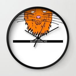 See You In Reno - The Cat Wall Clock