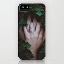 Hands Nature iPhone Case