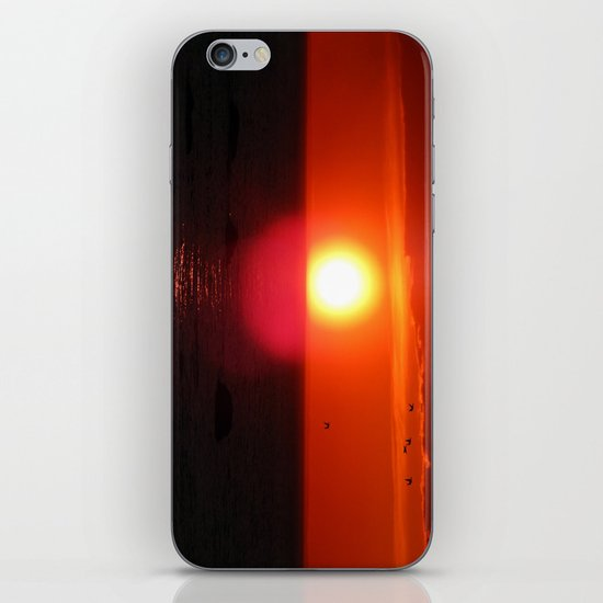 Flying into the Sun iPhone & iPod Skin