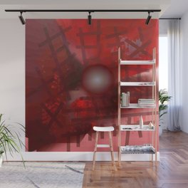 Rope and planet Wall Mural
