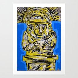 The empire that shone like the sun Art Print