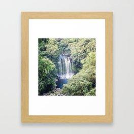 Island Falls Framed Art Print