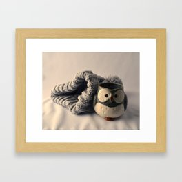 winter harmony Framed Art Print