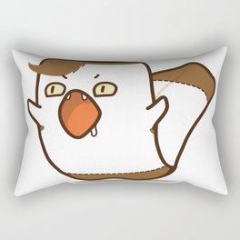 Angry chouchou Rectangular Pillow