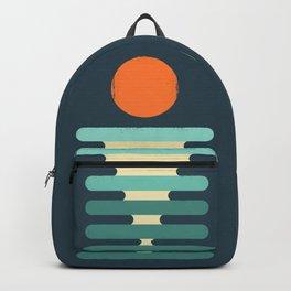 Minimalist ocean Backpack