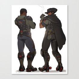 Blackwatch Reaper Mccree Canvas Print