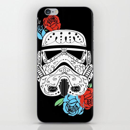 Storm Trooper Dia De Los Muertos iPhone & iPod Skin