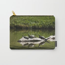 Three Turtles Photography Print Carry-All Pouch