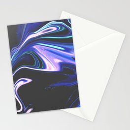 Tell Me - Marbling Pattern Stationery Cards