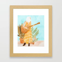 Music Soothes My Soul Framed Art Print