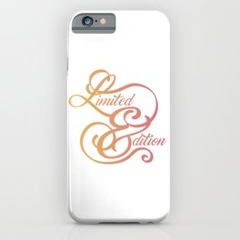 Limited Edition Swirl iPhone Case