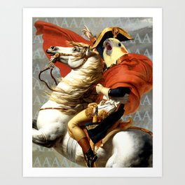 Napoleon birb Art Print