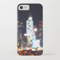 hong kong iPhone & iPod Cases featuring HONG KONG by Chernyshova Daryna
