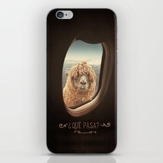 QUÈ PASA? NEVER STOP EXPLORING iPhone Skin