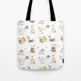 Lazy Hamster Tote Bag