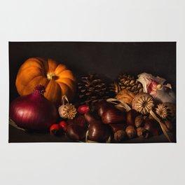 Halloween Harvest Rug