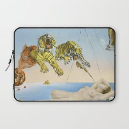 Salvador dali Dream caused by the flight of a bee around a pomegranate one second before waking up Laptop Sleeve
