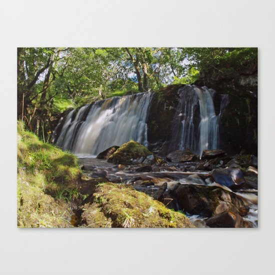 Allt Beochlich Waterfall Canvas Print